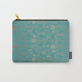 Golden Rings Carry-All Pouch