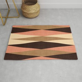 Harar in Peach Multi Rug