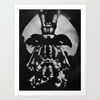bane Art Prints featuring Bane by Bergtatt by Ørjan