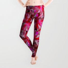 Ultimate Pink Pattern Leggings