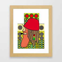Jah Love Soundsystem Framed Art Print