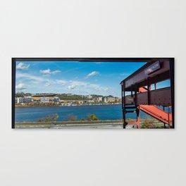 Heinz Field & Duquesne Incline Canvas Print