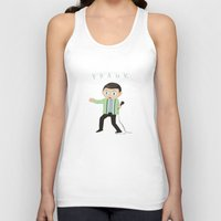 frank Tank Tops featuring Frank by Knifeson