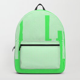 City Greenscape Halftone Backpack
