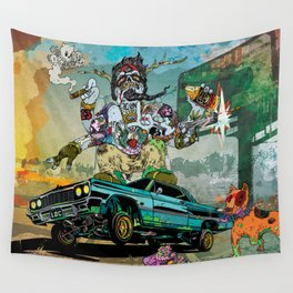 B-Side Low Ride Wall Tapestry