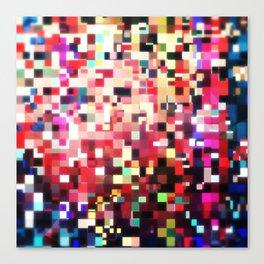 Pixel Play (i) Canvas Print