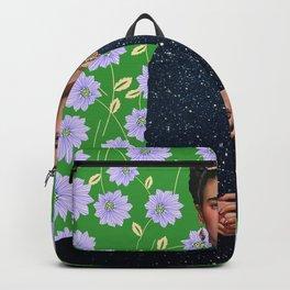 Flowers Frida Kahlo VI Backpack