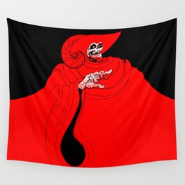 The Red Death Wall Tapestry