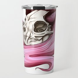 Neko skull girl: Catnip Travel Mug