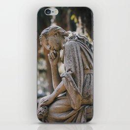 Bonaventure Cemetery - Statue of Eliza Wilhelmina Theus II iPhone Skin