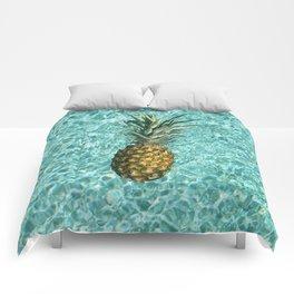 Pineapple Swimming Comforters