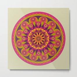 AFE Mandala Design Metal Print