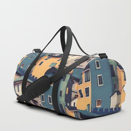 Night Castles (Pattern) Duffle Bag