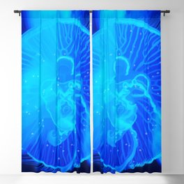 So Very Blue Blackout Curtain