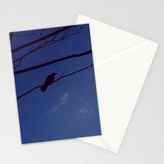 Bird on Tree  Stationery Cards