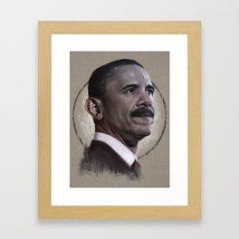 ObaMO Framed Art Print