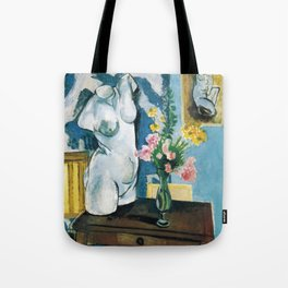 The Plaster Torso - Henri Matisse - Exhibition Poster Tote Bag