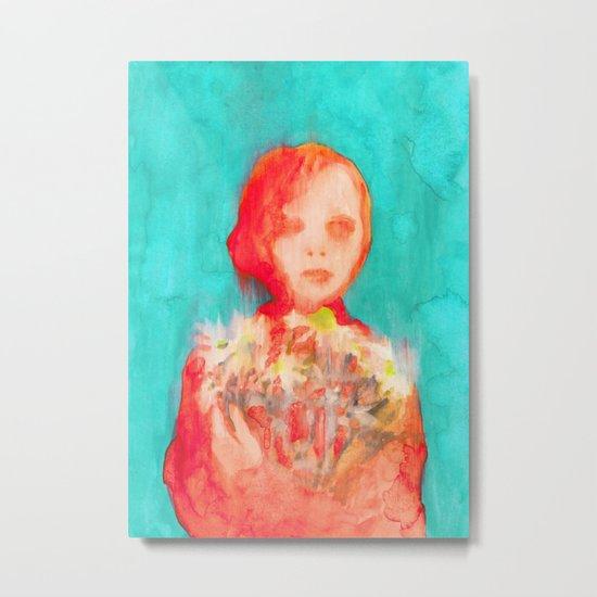 She Daisy Metal Print