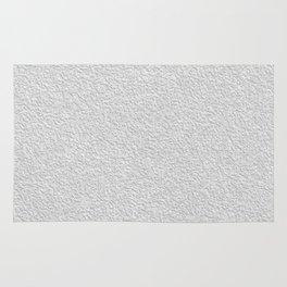 White grey stucco texture Rug