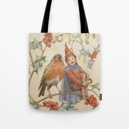 """""""A Christmas Duet"""" by Margaret Tarrant Tote Bag"""