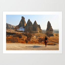 Western Style  Art Print