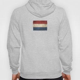 Old and Worn Distressed Vintage Flag of The Netherlands Hoody
