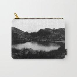 Fairy Glen, Isle of Skye, B/W Carry-All Pouch