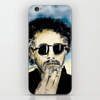 tim burton iPhone & iPod Skins featuring Tim Burton by Joanie L. Posner (jppozzy)