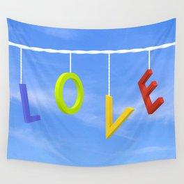 Love Is In The Air Wall Tapestry