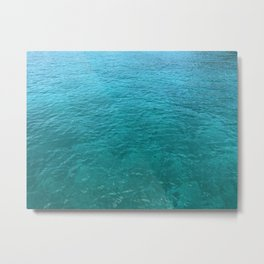 Mustique Sea Metal Print