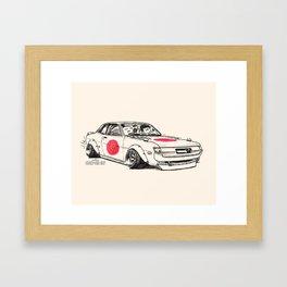 Crazy Car Art 0177 Framed Art Print