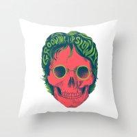 john snow Throw Pillows featuring John by David Maclennan