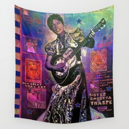 Sister Rosetta Tharpe Wall Tapestry