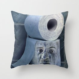 Oh No....  Throw Pillow