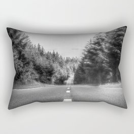 Denbigh Moors - Evo Triangle, B4501 Road Rectangular Pillow