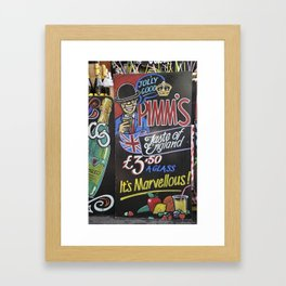 Pimm's Framed Art Print