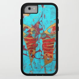 The Birth of the Butterfly iPhone Case