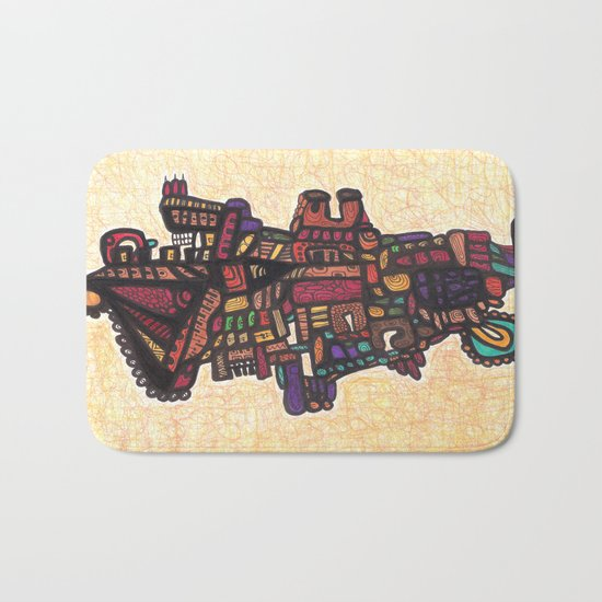(Dance of) Life and Death Bath Mat