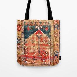 Konya Central Anatolian Niche Rug Print Tote Bag