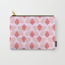 Pink 60s Carry-All Pouch