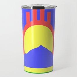 flag of Roswell Travel Mug