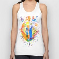 donnie darko Tank Tops featuring Donnie Darko - Nice Day by Ayemaiden