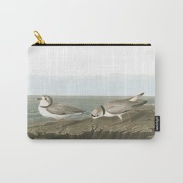 Piping plover, Birds of America, Audubon Plate 220 Carry-All Pouch