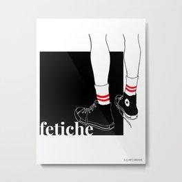 fetiche #1 (black) Metal Print