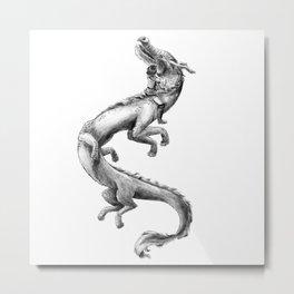 Rise (Black&White) Metal Print