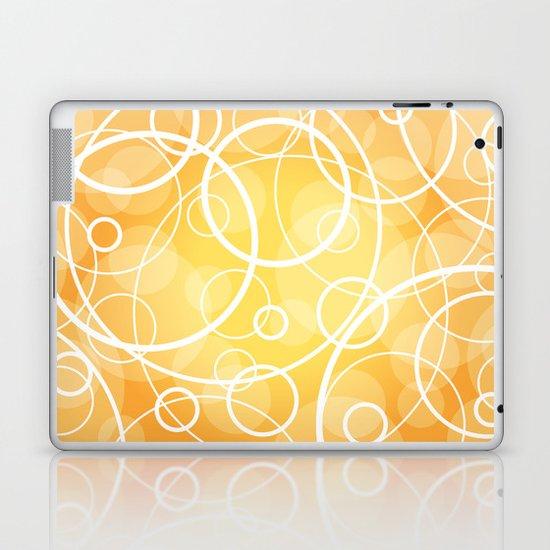 Hard Line Bokeh Laptop & iPad Skin