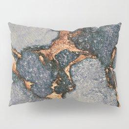 GREY & GOLD GEMSTONE Pillow Sham