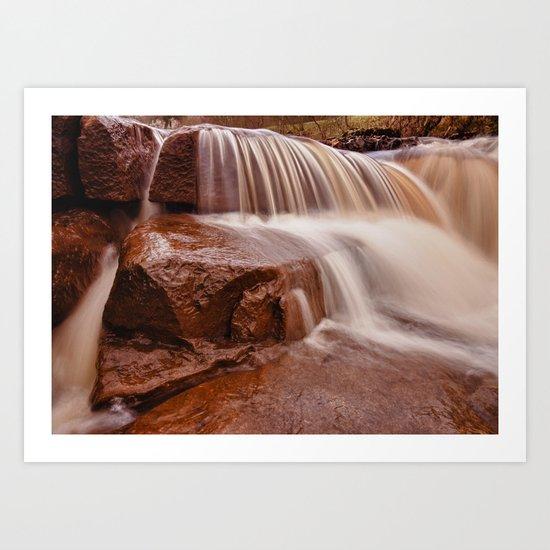 Wainwath Falls Art Print