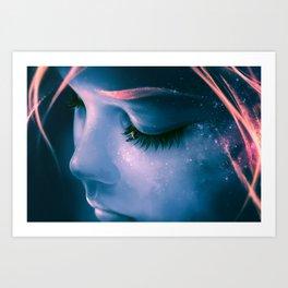 Focus on yourself Art Print