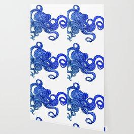 Ombre Octopus Wallpaper